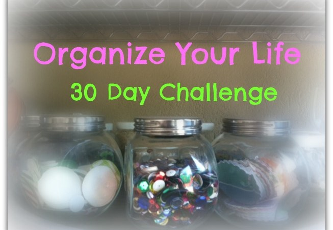 organize your life challenge