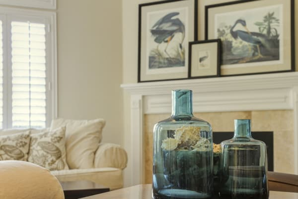 Use what you have home staging. You don't have to have new stuff.