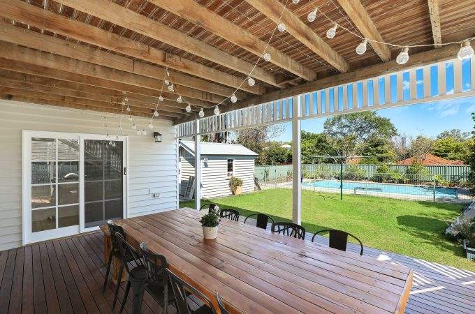 If you've gotten into full home staging, consider how you can stage the backyard too!