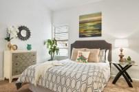 Staging The Nest - Master Bedroom - After Staging