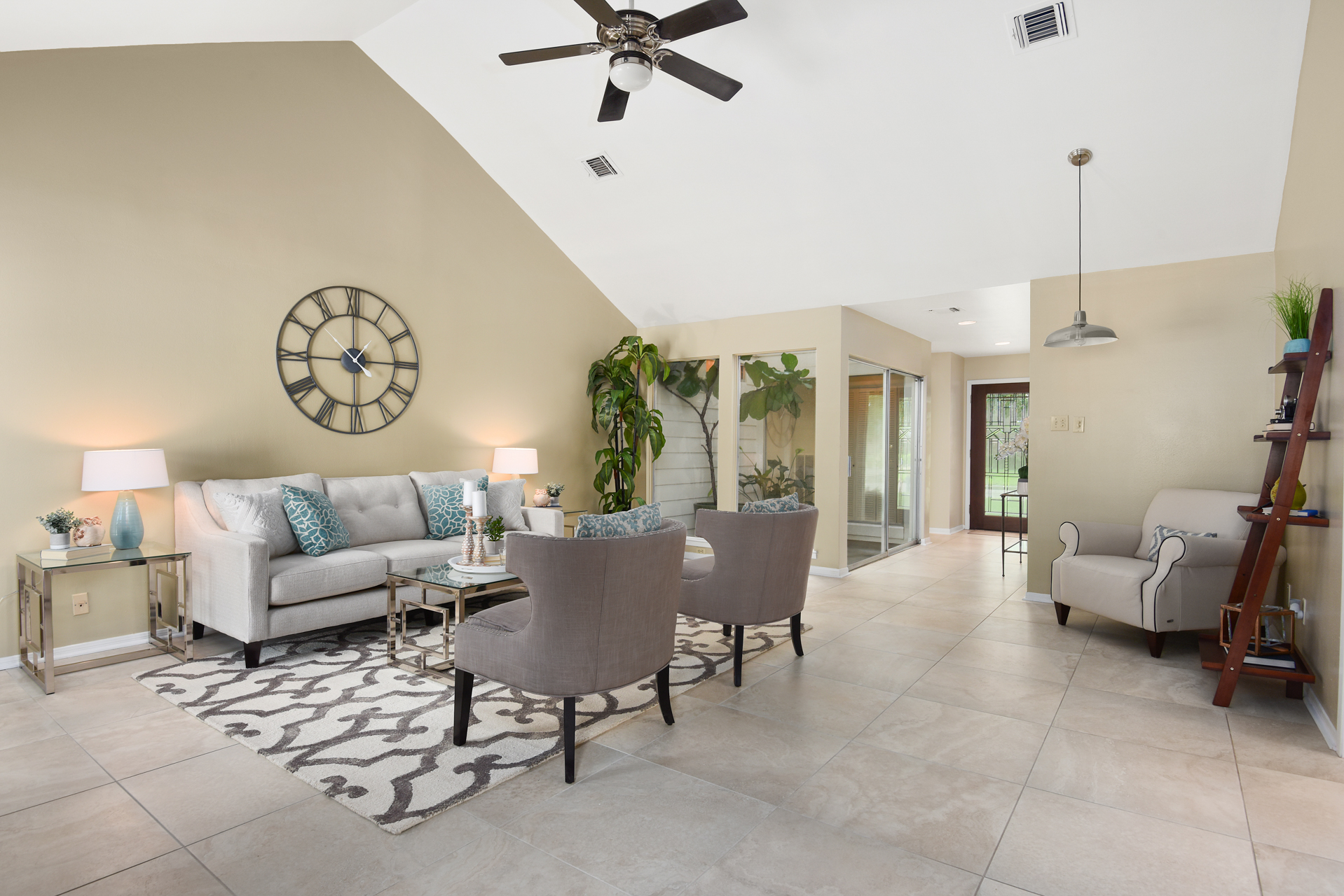 Staging The Nest - Vacant Home Staging - Living Room 2