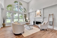 Staging The Nest - Vacant Home Staging - Houston - The Woodlands - Formal Living Room