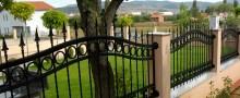 Beispielbild Zaunbau – Zäune, Gartenzäune, Grundstückszäune