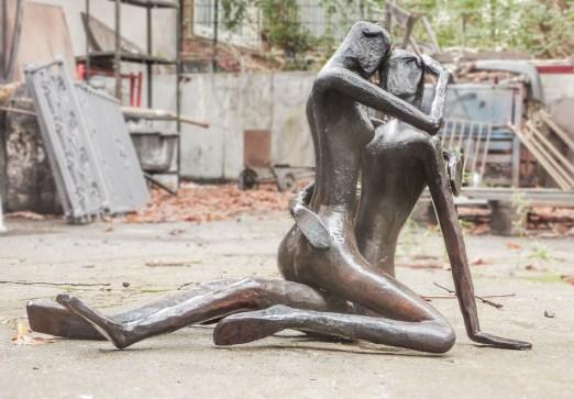 Bildhauer Werkstatt Stahlwerk Berlin Thomas Huber