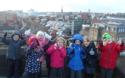 Year 2 visit The Castle Keep and Christmas Jumper Day!