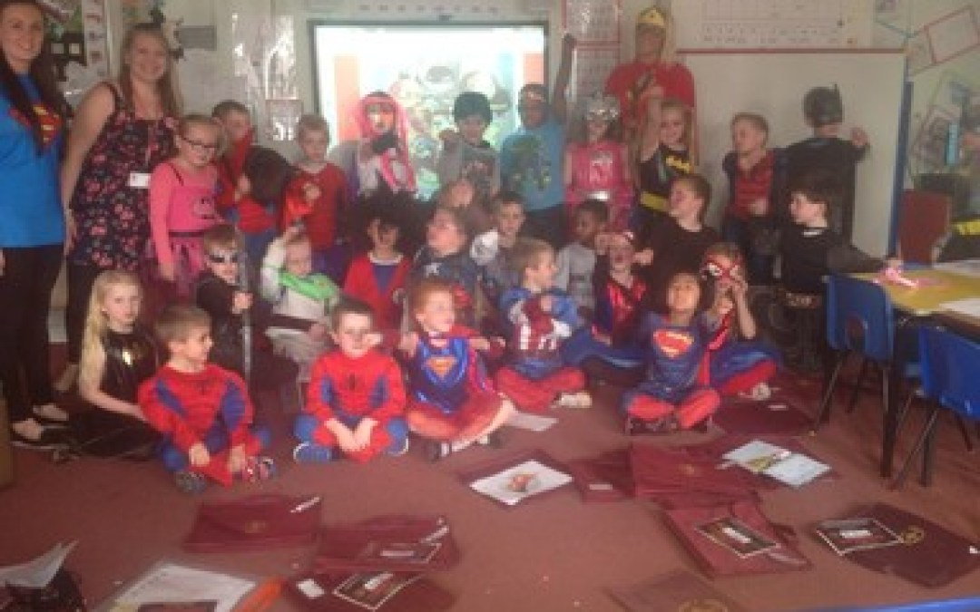 Superhero Day!