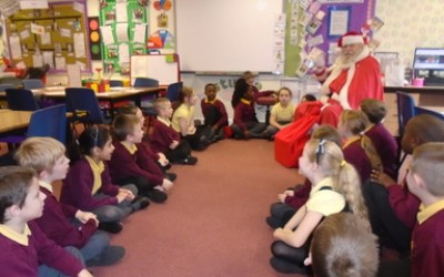 When Santa Claus Came to Year 3