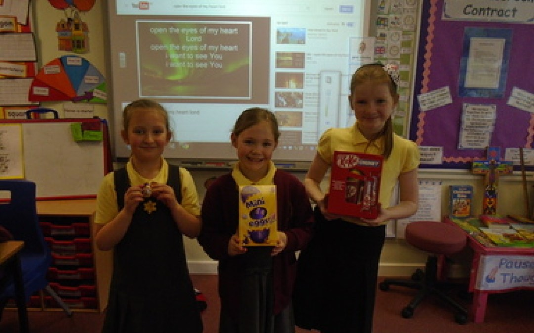Year 3 Easter Egg Competition Winners