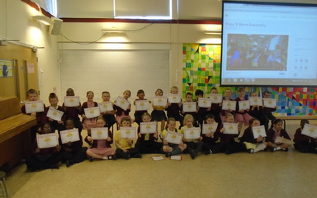 Year 3 Merit Assembly