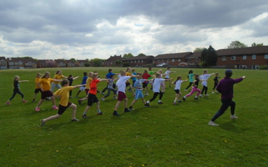 Year 4 Martial Arts PE 2