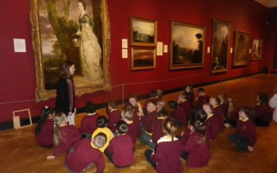 Year One trip to the Laing Art Gallery