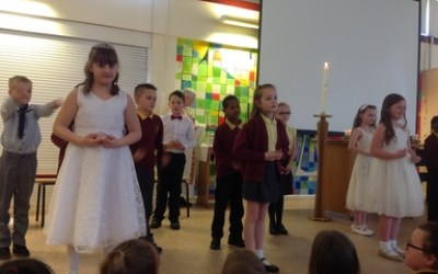 Year 3's First Holy Communion