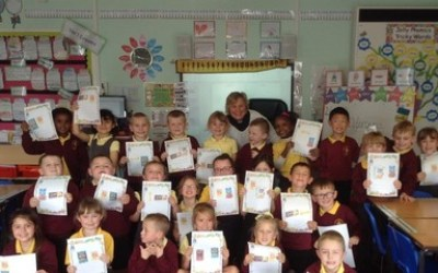 Reverend Yvonne visits Year 1
