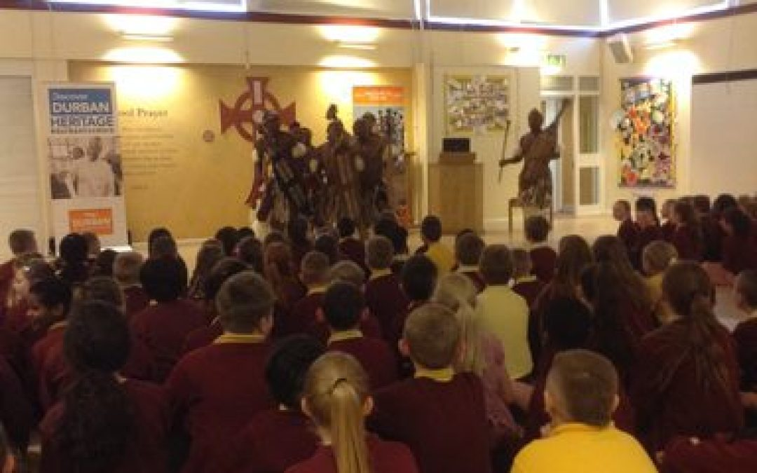 The Lions of Zululand visit St Aidan's