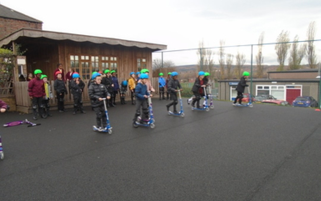 Year 5 Scooterability