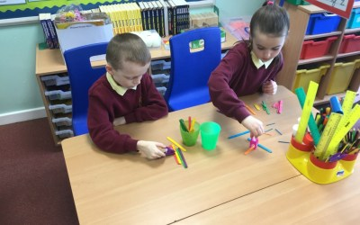 Fine motor exercise in Year 4