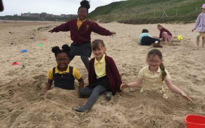Year 1 visit Tynemouth Beach