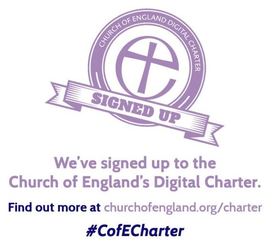 Our Digital Charter with The Church of England