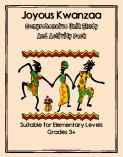 kwanzaa unit study and activity pack
