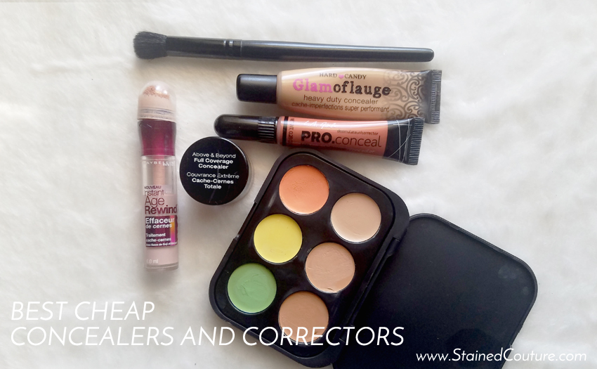 best cheap concealers and correctors