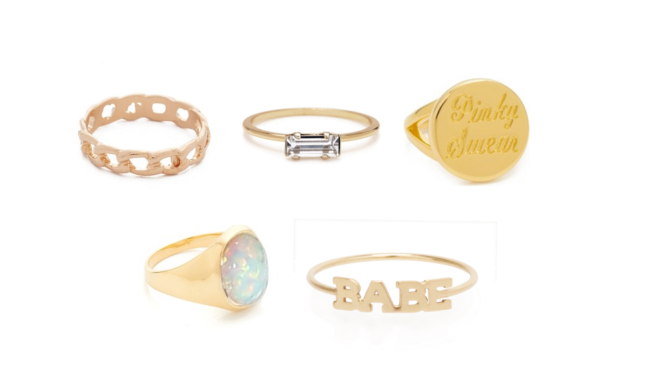 pinky rings options