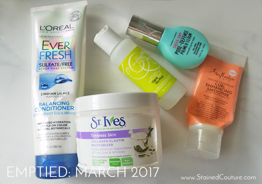 emptied march 2017