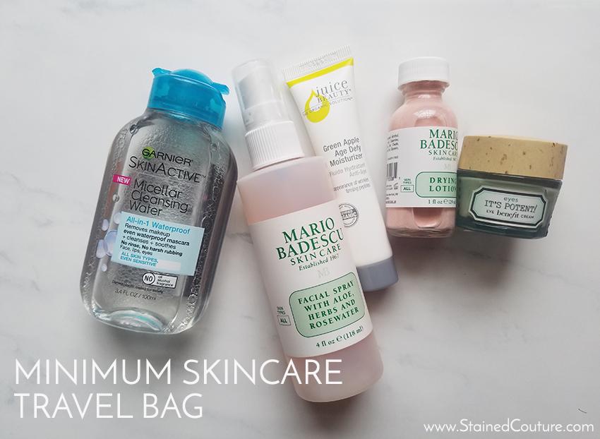 minimun skincare travel bag