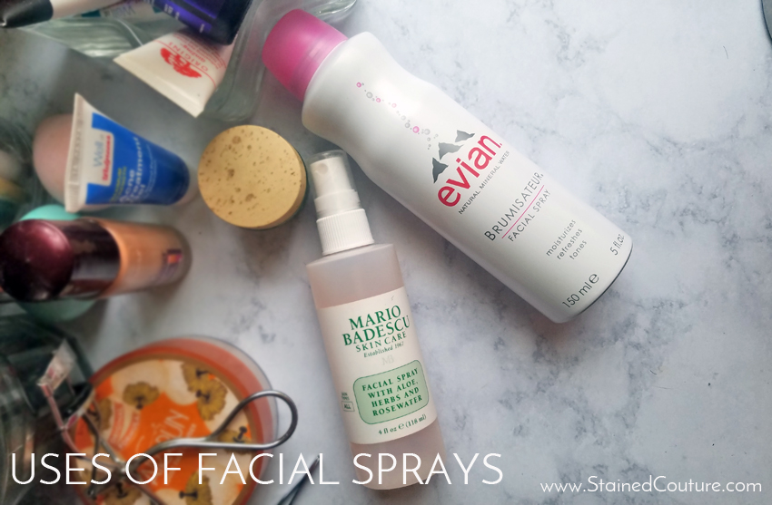 uses of facial sprays