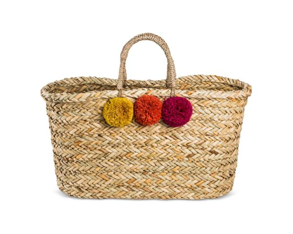 large-straw tote from Target