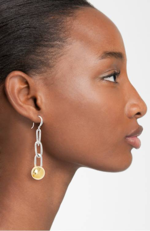 Nordstrom Anniversary Sale chain ball drop earrings
