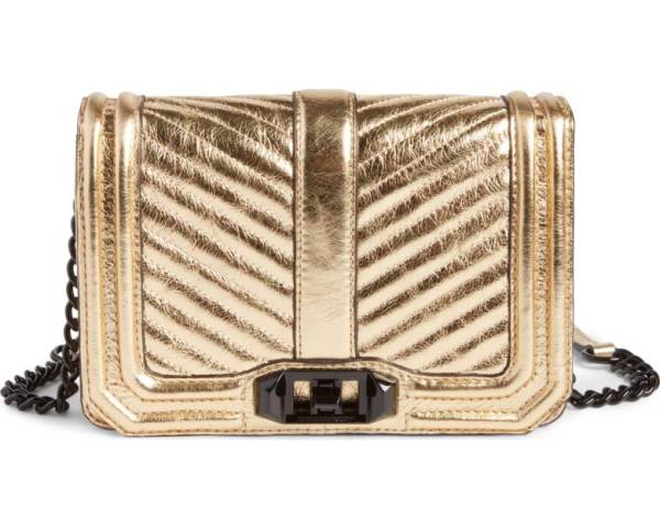 Nordstrom Anniversary Sale rebecca minkoff gold love bag