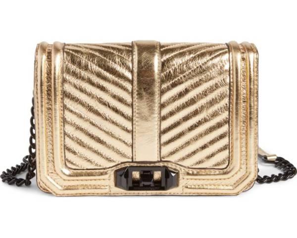 Nordstrom Anniversary Sale rebecca minkoff gold love bag