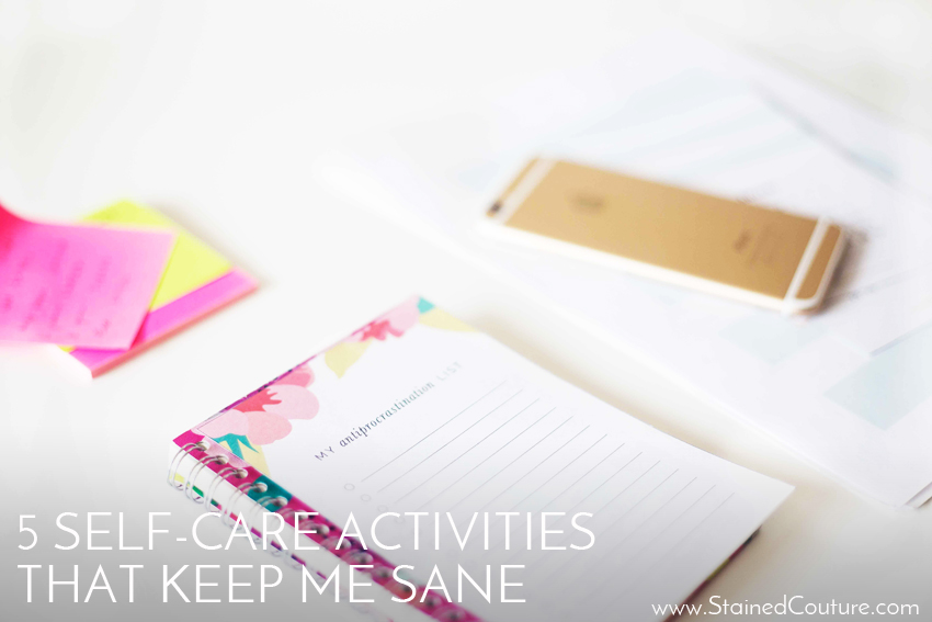 5 self-care activities