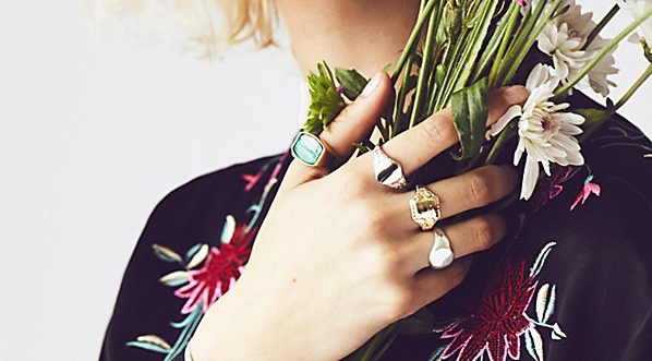 Free People Signet Rings