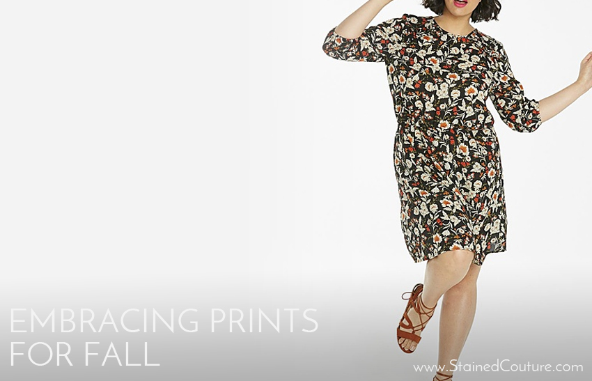 embracing prints for fall simply be