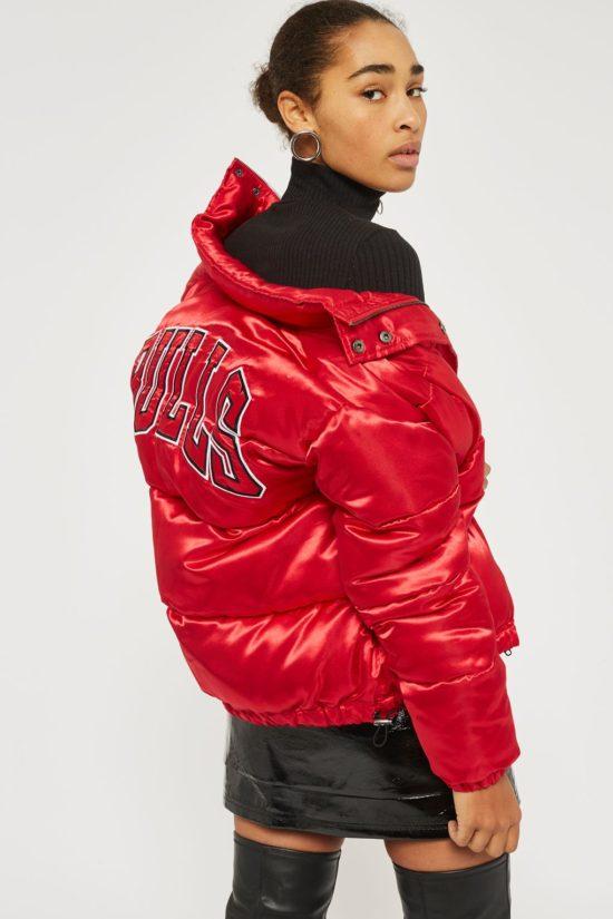 UNK x Topshop Chicago Bulls puffer jacket