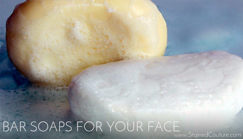 bar soaps for your face
