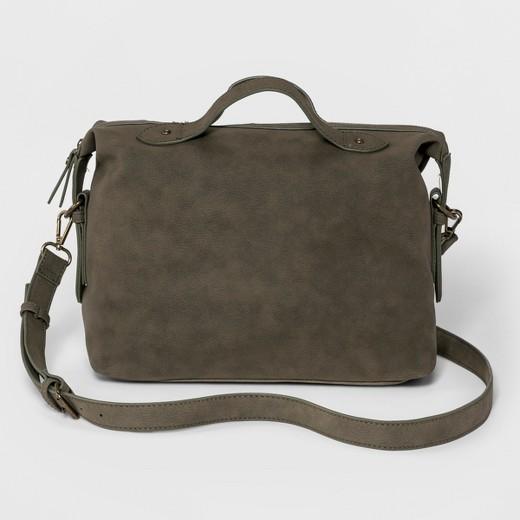 grown woman bag olve green satchel