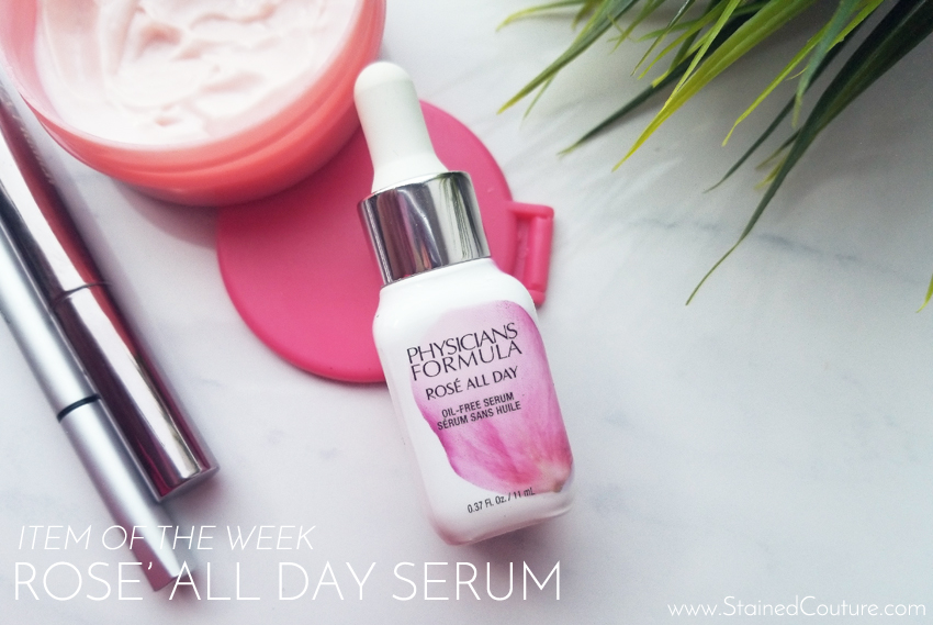 ITEM OF THE WEEK: Rose' All Day Serum