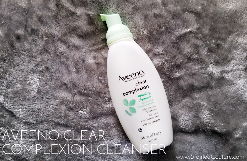 Aveeno Clear Complexion Foam Cleanser