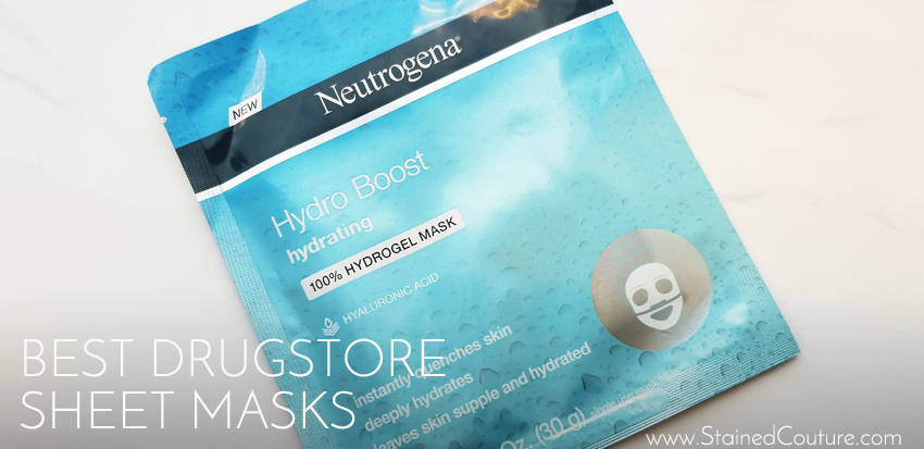 Best Drugstore Sheet Masks | STAINED COUTURE