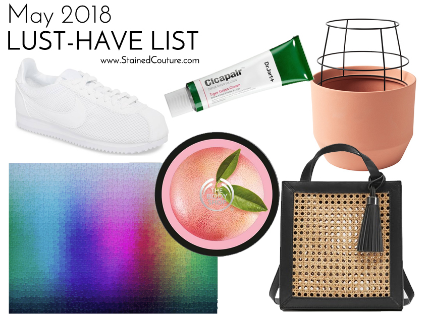LUST-HAVE LIST | May 2018