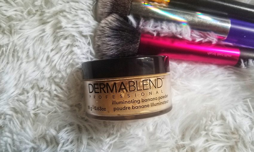 ITEM OF THE WEEK: Dermablend Illuminating Banana Powder | STAINED COUTURE