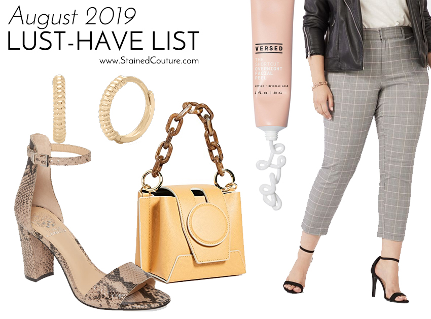 LUST-HAVE LIST: August 2019 | STAINED COUTURE