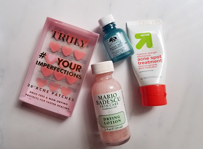 Favorite Acne Spot Treatments | STAINED COUTURE