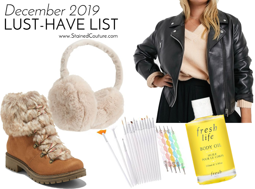 LUST-HAVE LIST: December 2019 | STAINED COUTURE