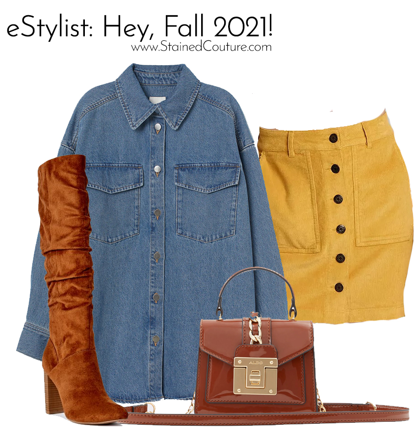 eSTYLIST: Hey, Fall 2021 | STAINED COUTURE