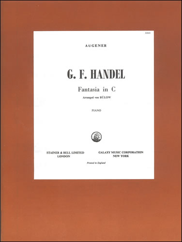 Handel, George Frideric: Fantasia In C