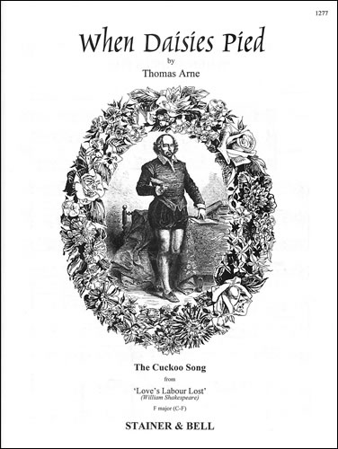 Arne, Thomas: When Daisies Pied (Cuckoo Song). F Major