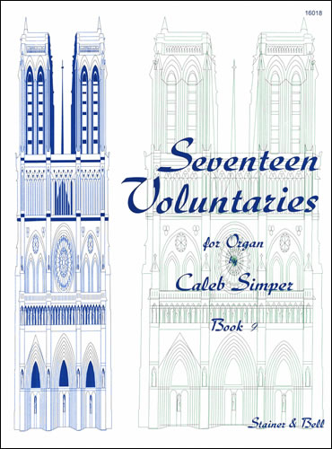 Simper, Caleb: Seventeen Voluntaries. Book 9